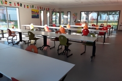 Distanciation - Restaurant scolaire